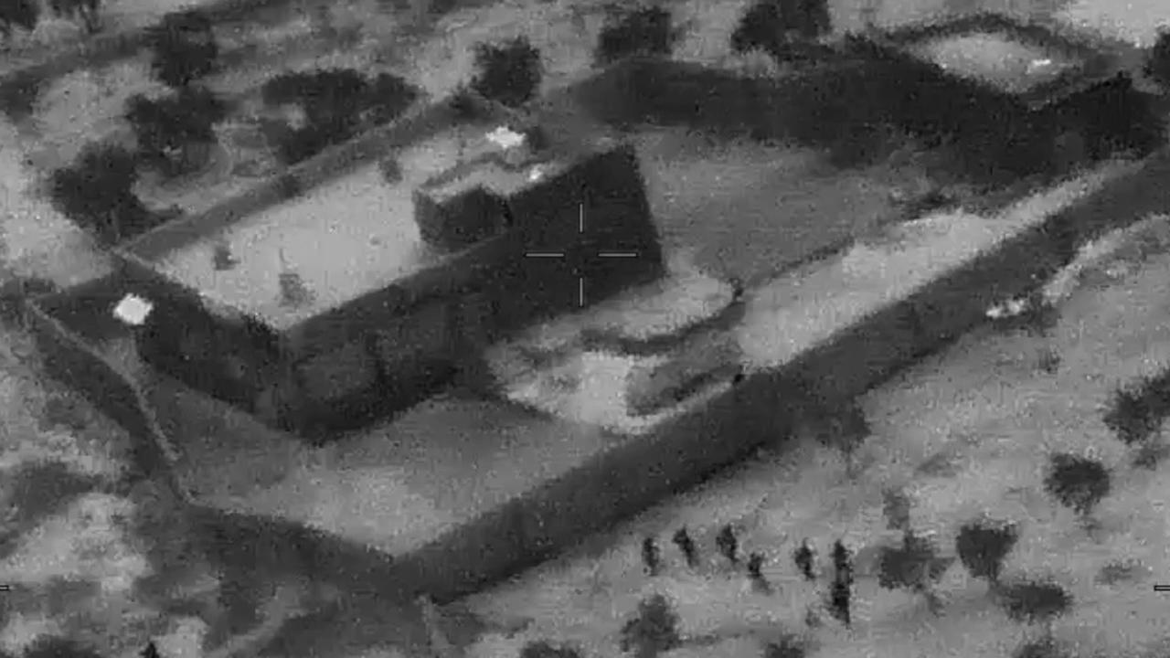 US Special Forces crashed the compound of Islamic State leader Abu Bakr al-Baghdadi. Picture: Department of Defence via AP, File