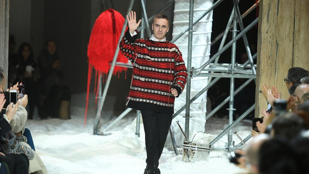 Raf Simons On Fast Fashion Slow Design And His Love Of Furniture S Golden Age Vogue Australia