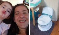 Mum shares Kmart potty training hack that works
