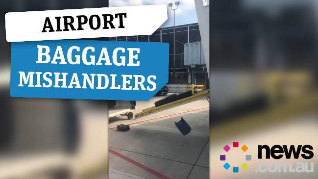 Social media users expose bad baggage handling at airports