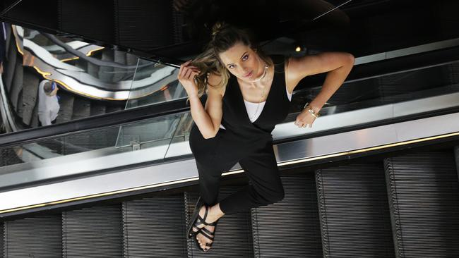 Model Robyn Lawley says being the new face of Westfield is a sign of things to come. Picture: Toby Zerna