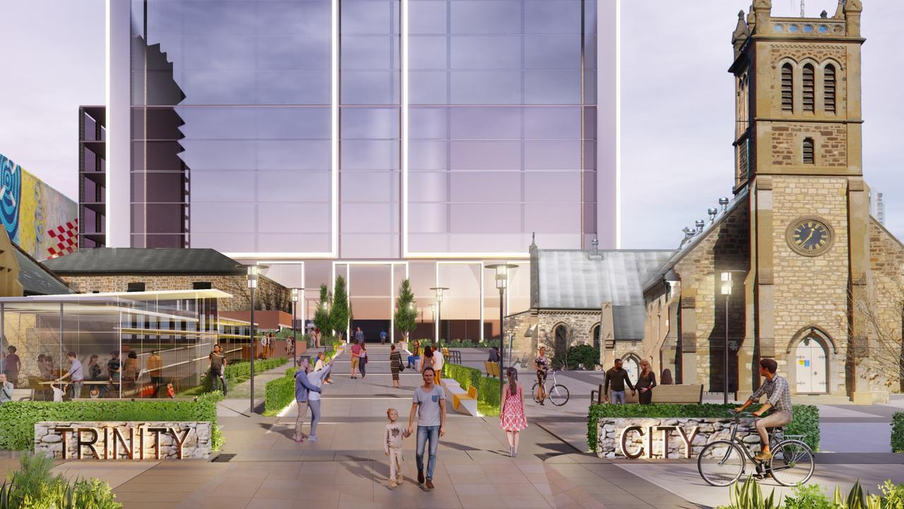 Trinity Church centre of $10m development in Adelaide CBD   The ...