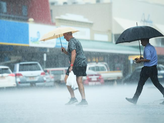 It has rained in Darwin for 101 days this wet season, due to active monsoonal troughs.