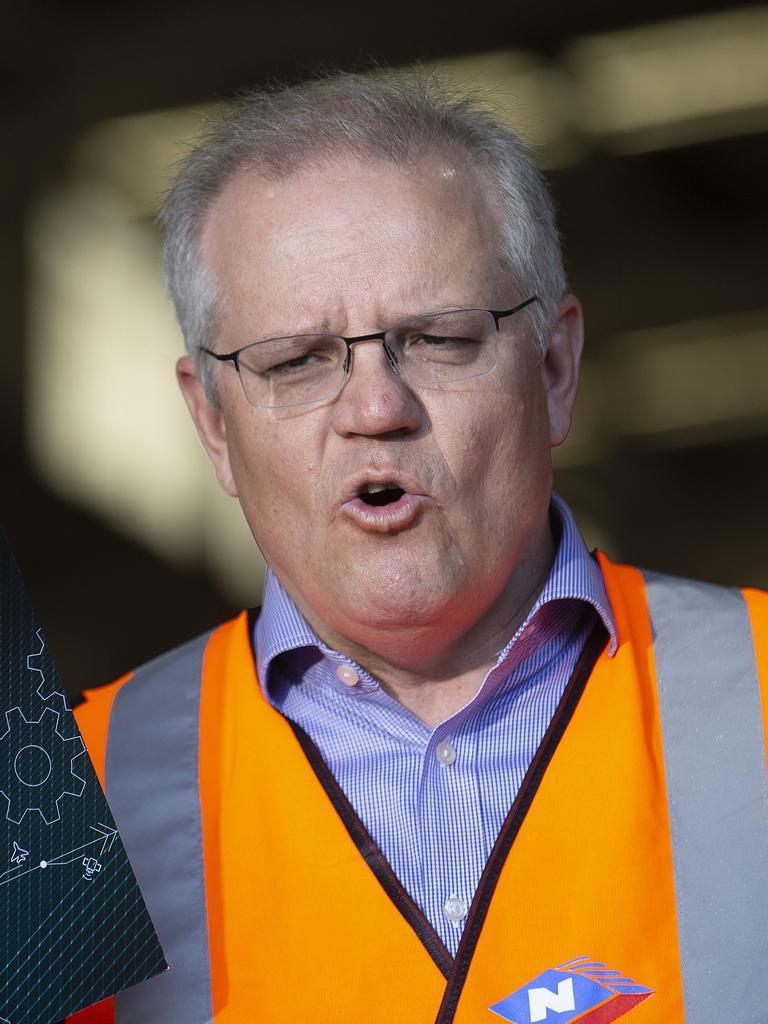 Prime Minister Scott Morrison. Picture: Sarah Marshall/NCA NewsWire