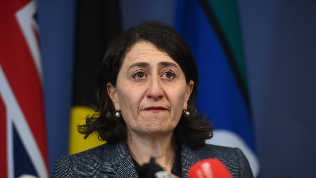 Gladys Berejiklian faces an ICAC investigation. Picture: NCA NewsWire / Jeremy Piper