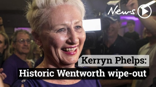 Kerryn Phelps claims victory over Liberal Dave Sharma