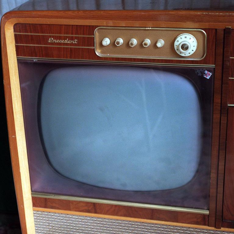The culprit? A villager's old television set.
