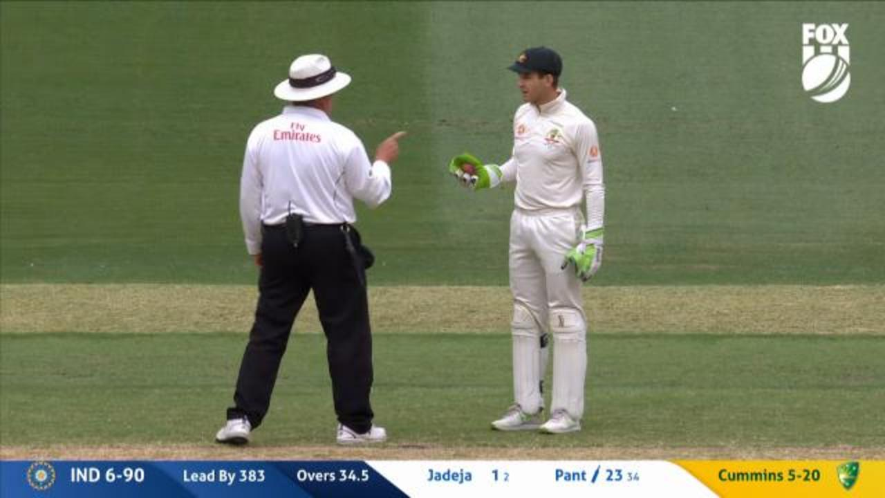 Aussies pinged for negative tactics