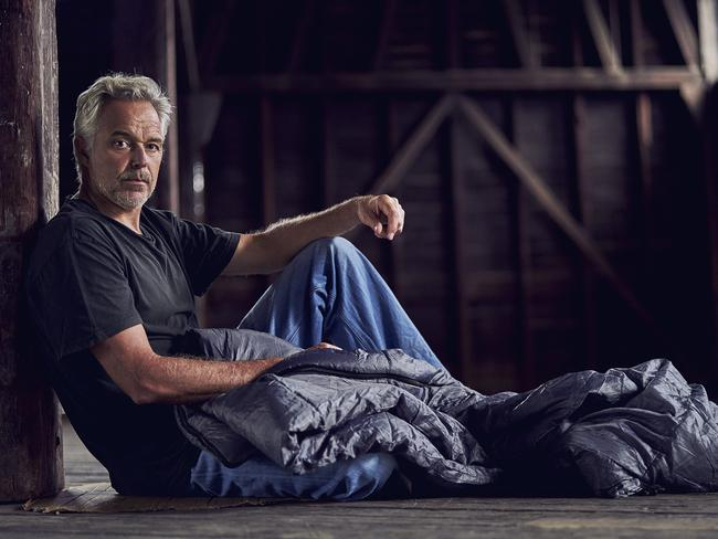 Cameron Daddo is one of five high-profile Australians to appear on Filthy Rich and Homeless.