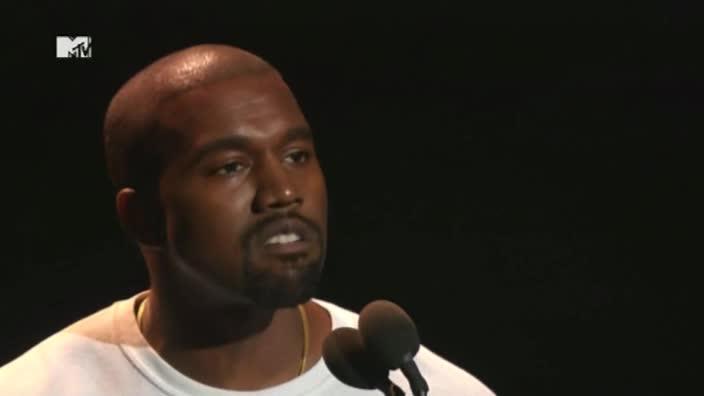 Kanye's bizarre MTV Awards speech
