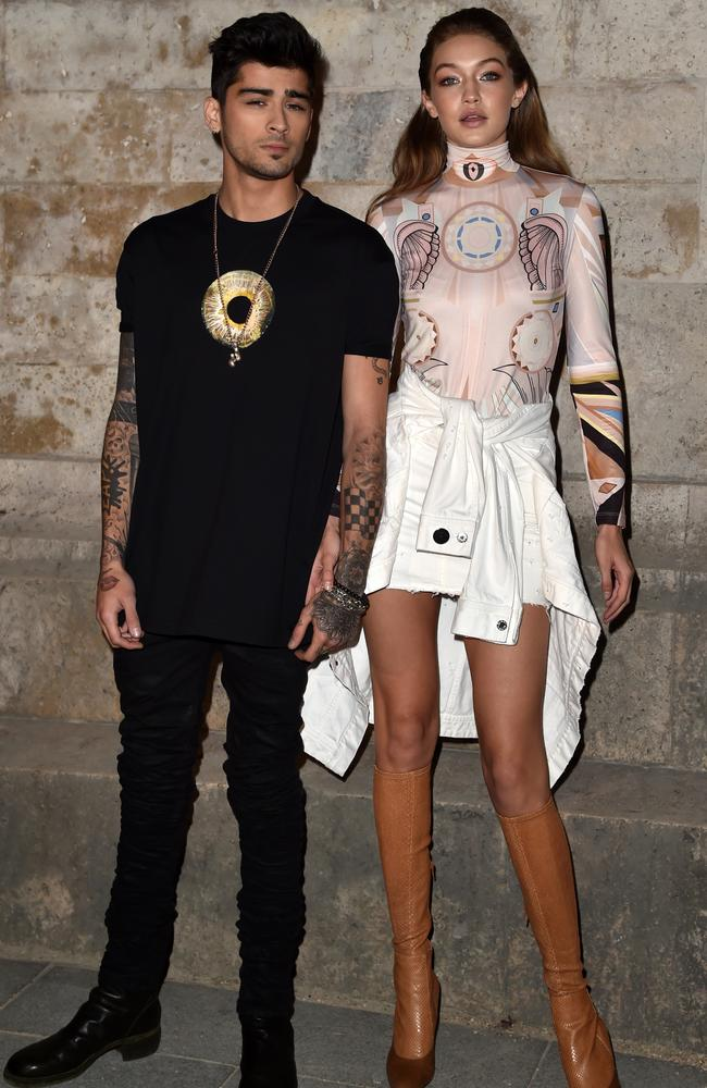 Rumours are circulating that Zayn Malik and Gigi Hadid are engaged Picture: Pascal Le Segretain/Getty Images