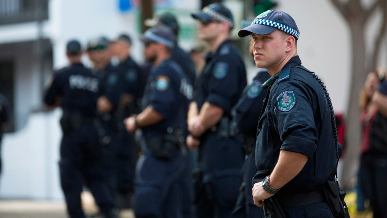 NSW Police face backlash over allegedly inappropriate gesture at BLM protest