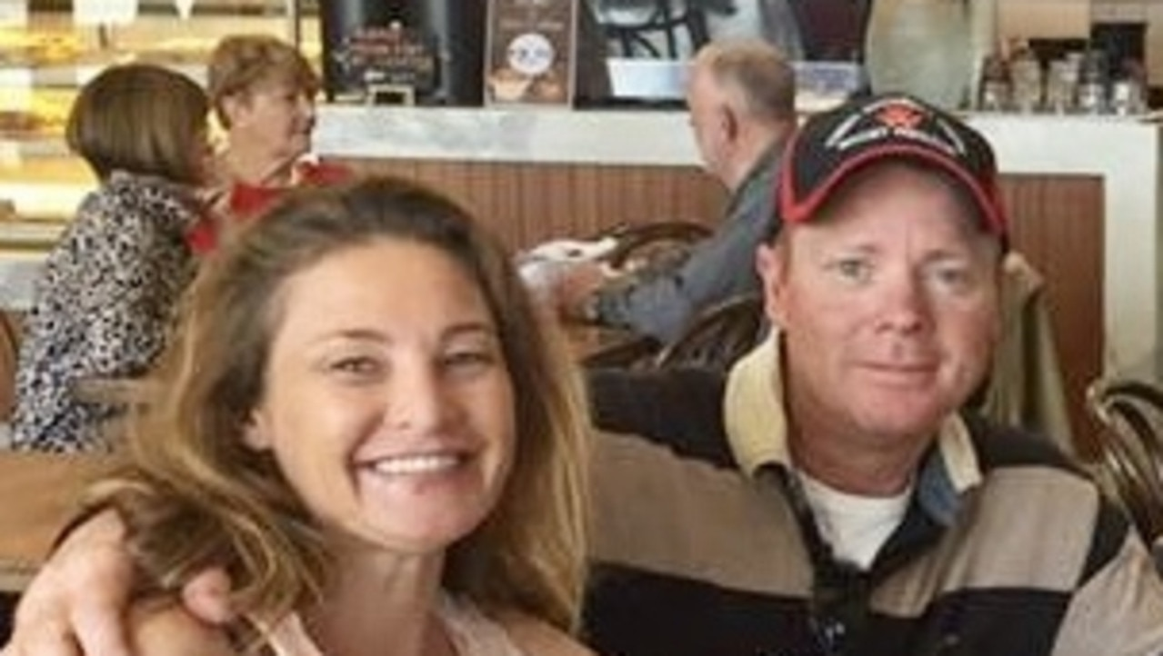 Charles Evans (right) has been released from a Victorian jail for the car slam death of Alicia Little (left) and is in Sydney hotel quarantine.