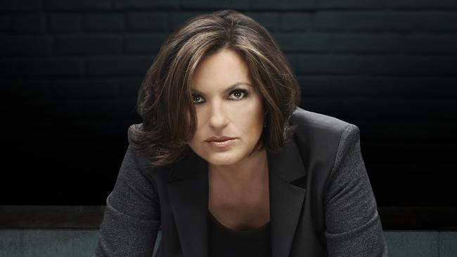 Embargoed to February 8, 2015, Sunday TV Guides first use. Mariska Hargitay as Olivia Benson in Law & Order: SVU. Picture: Supplied by Channel Ten.
