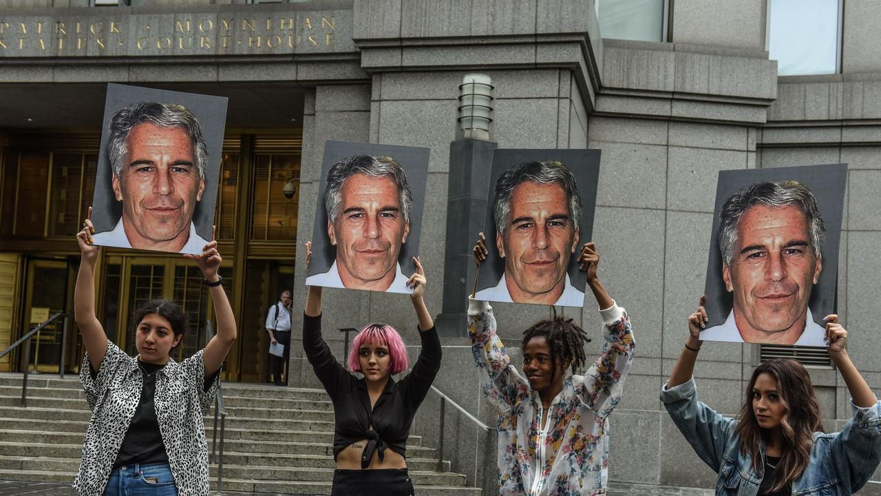 Epstein faced charges relating to alleged sexual misconduct from at least 2002 to 2005. Picture: AFP