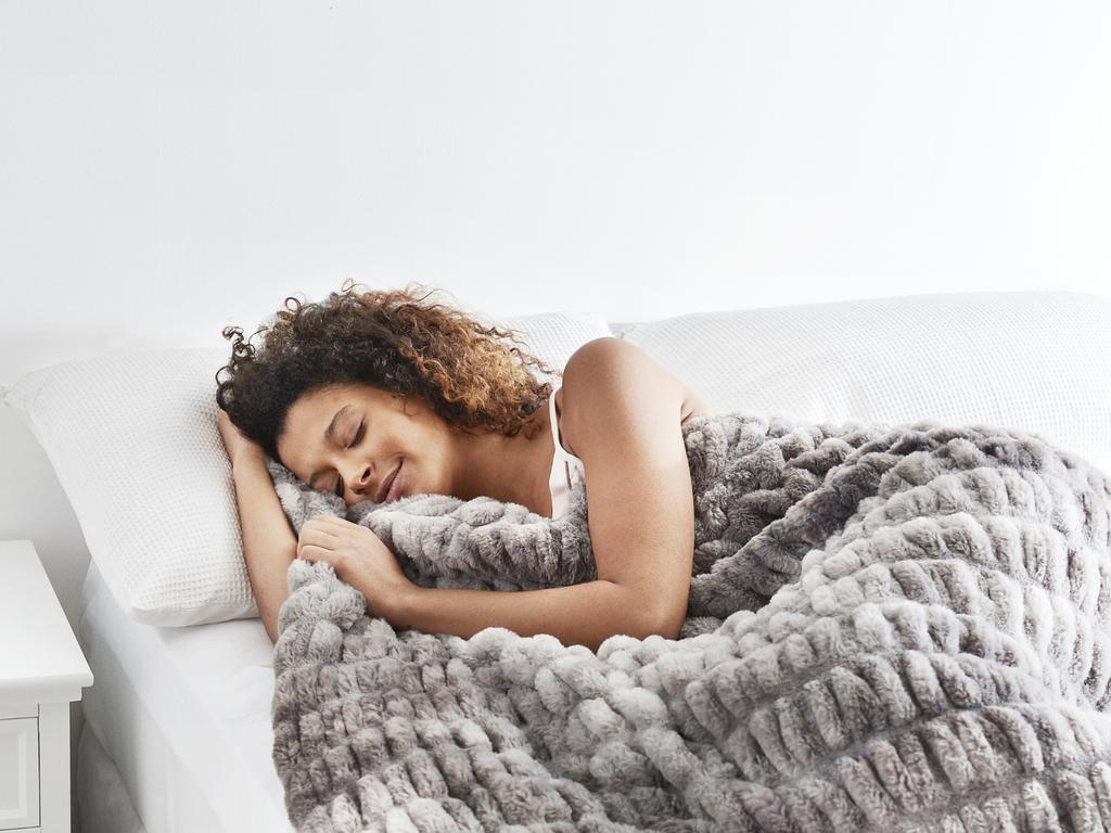 Aldi is selling a new version of its popular weighted blanket.
