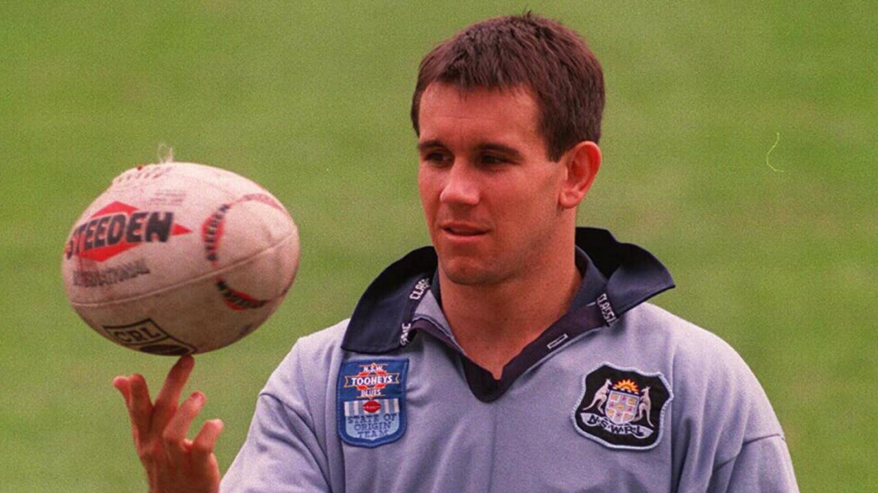 Matty Johns representing NSW in 1995.