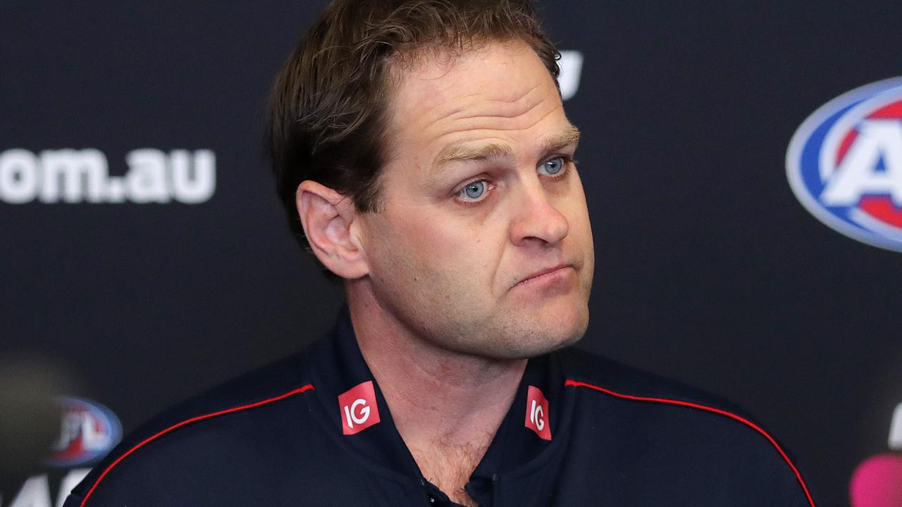 Former Melbourne head of football Josh Mahoney (Picture: Michael Klein).