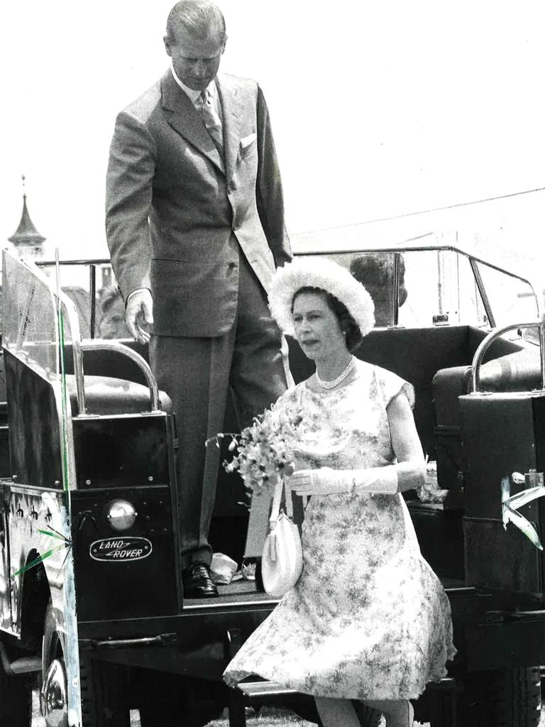 Prince Philip was a dutiful husband to Queen Elizabeth. Picture: Courier Mail