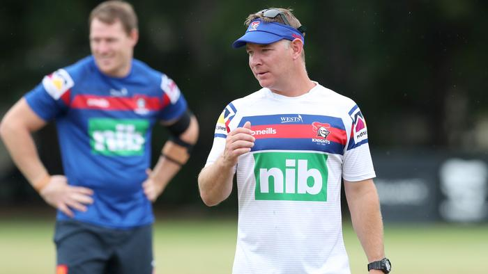 Newcastle Knights Training Session