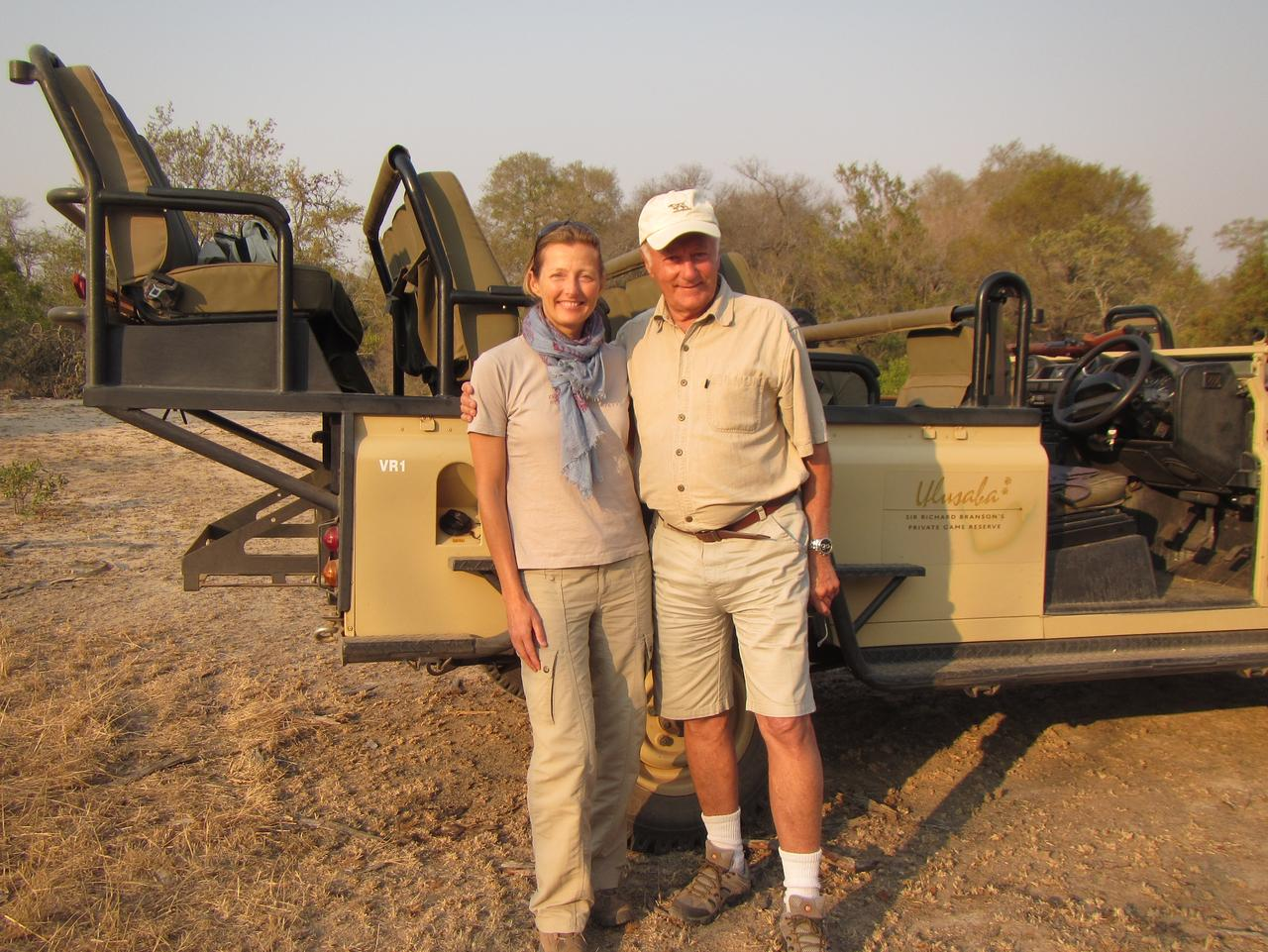 Go on safari with someone you love, like your dad. Picture: Louise Southerden