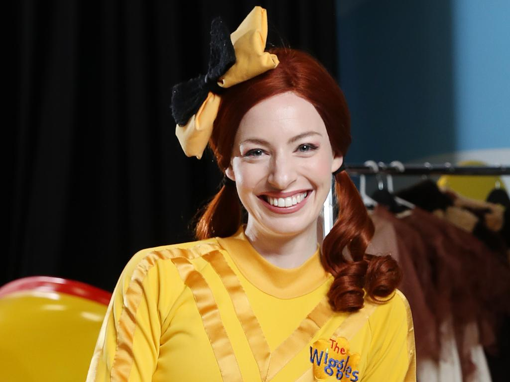 Pictured at Wiggles HQ in Bella Vista is Wiggles member Emma Watkins. The Wiggles will be doing live shows in lieu of the concerts they haven't performed live since early March.  Picture: Richard Dobson