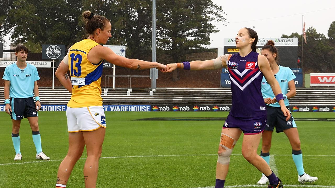 West Coast could be forced to face Fremantle again in 2021. Photo: Paul Kane/Getty Images.
