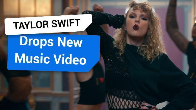Taylor Swift drops new music video at the VMA's