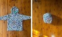 Genius hack for folding hoodies