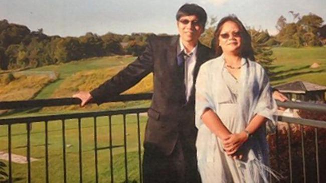 Jennifer Pan's parents, Bich Ha and Huei Hann Pan. Picture: Court exhibit