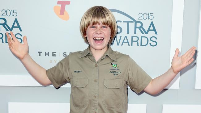 Robert Irwin larger than life on the ASTRA red carpet