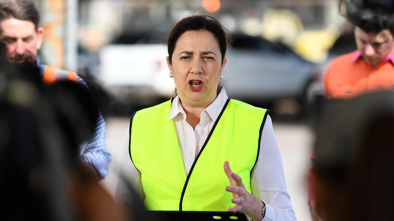 Premier Annastacia Palaszczuk's handling of the virus has been a main cause for her surging popularity. Picture: NCA NewsWire / Dan Peled