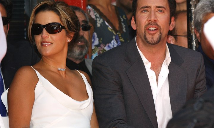 "<b> Nicolas Cage and Lisa Marie Presley </b>Marriage length: 107 days <p> These two were married in a lavish Hawaiian ceremony but separated soon after saying they ""never should have gotten married."""
