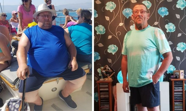 Dying daughter asks dad to lose weight for her kids