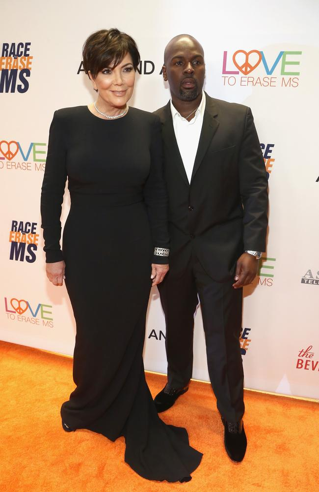 Kris Jenner's boyfriend Corey Gamble reportedly pulled Blac Chyna off Rob during a December altercation. Picture: Tommaso Boddi/Getty Images for Evine