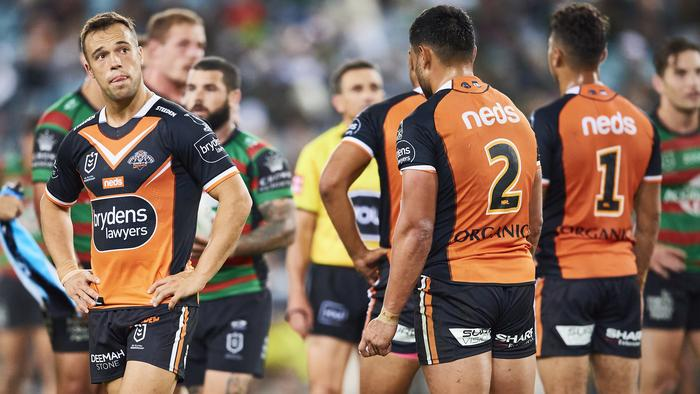 NRL Rd 6 - Rabbitohs v Wests Tigers