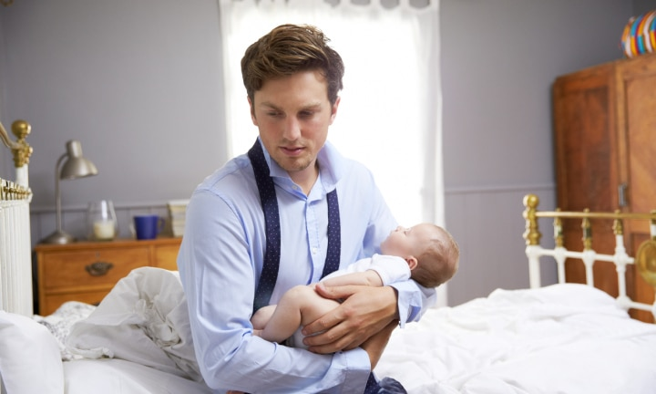 We need to talk about male postpartum depression