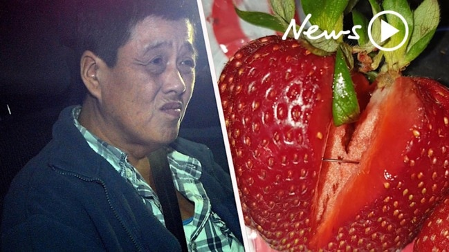 Strawberry contamination: police arrest and charge QLD woman for the original contamination