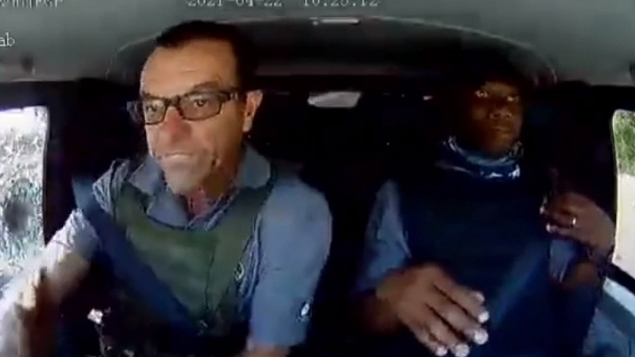 Failed heist in South Africa caught on camera