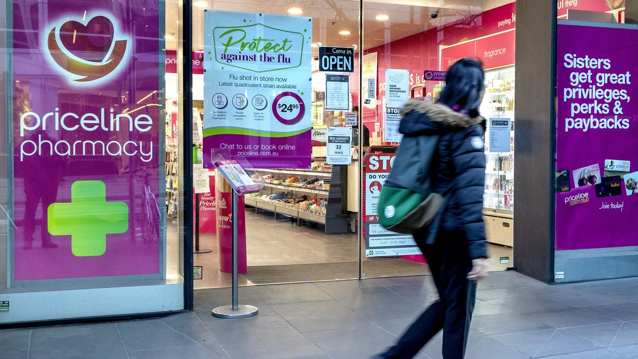 Priceline's owner says Wesfarmers' bid is not enough. Picture: NCA NewsWire/David Geraghty