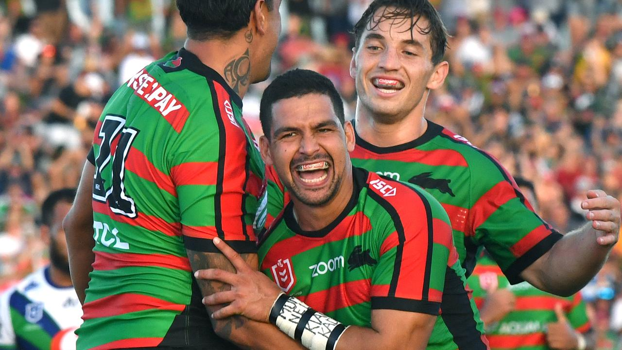 Cody Walker scored four tries for the Rabbitohs on Saturday. (Pic: Darren England/AAP)