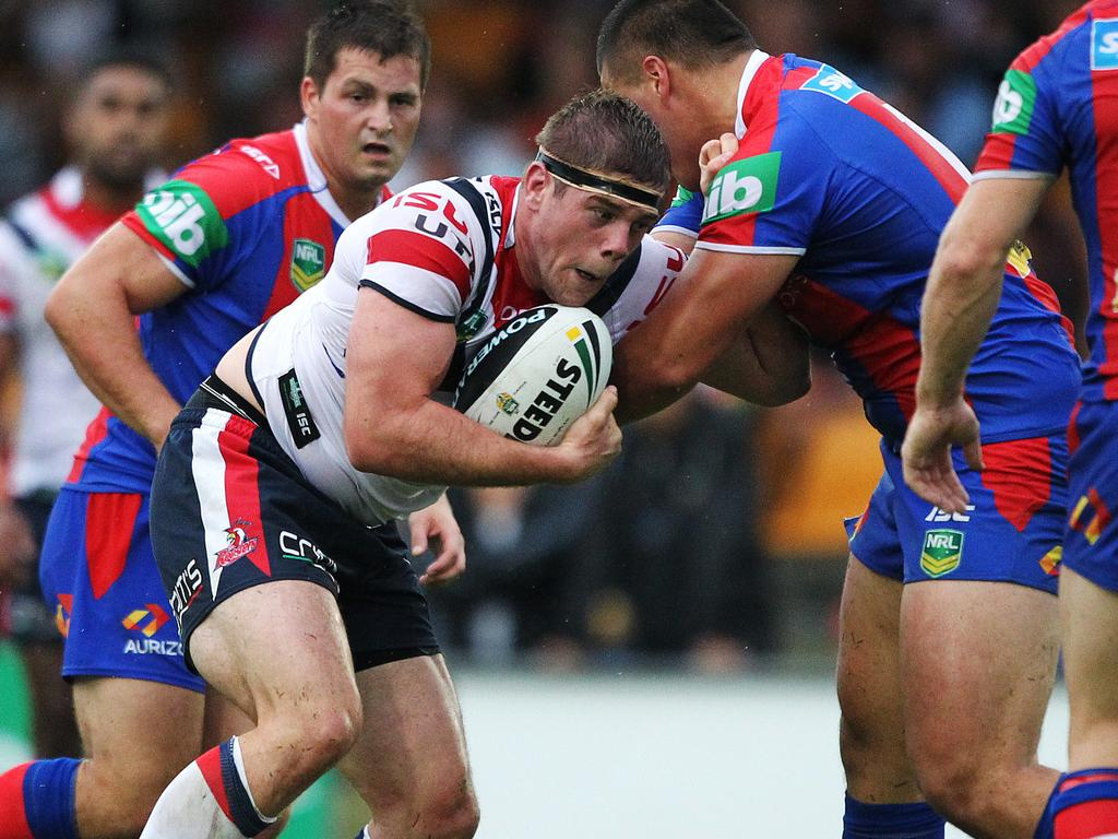 Remi Casty in action for the Roosters