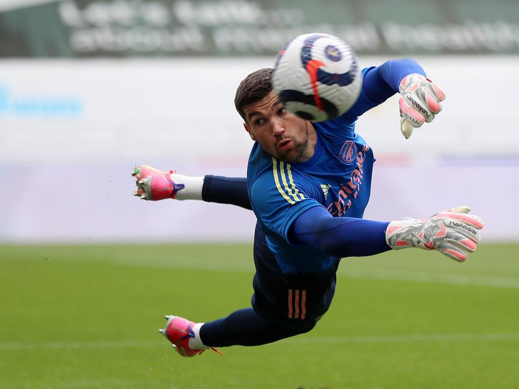 Mat Ryan has recovered from knee surgery. Picture: Lee Smith - Pool/Getty Images