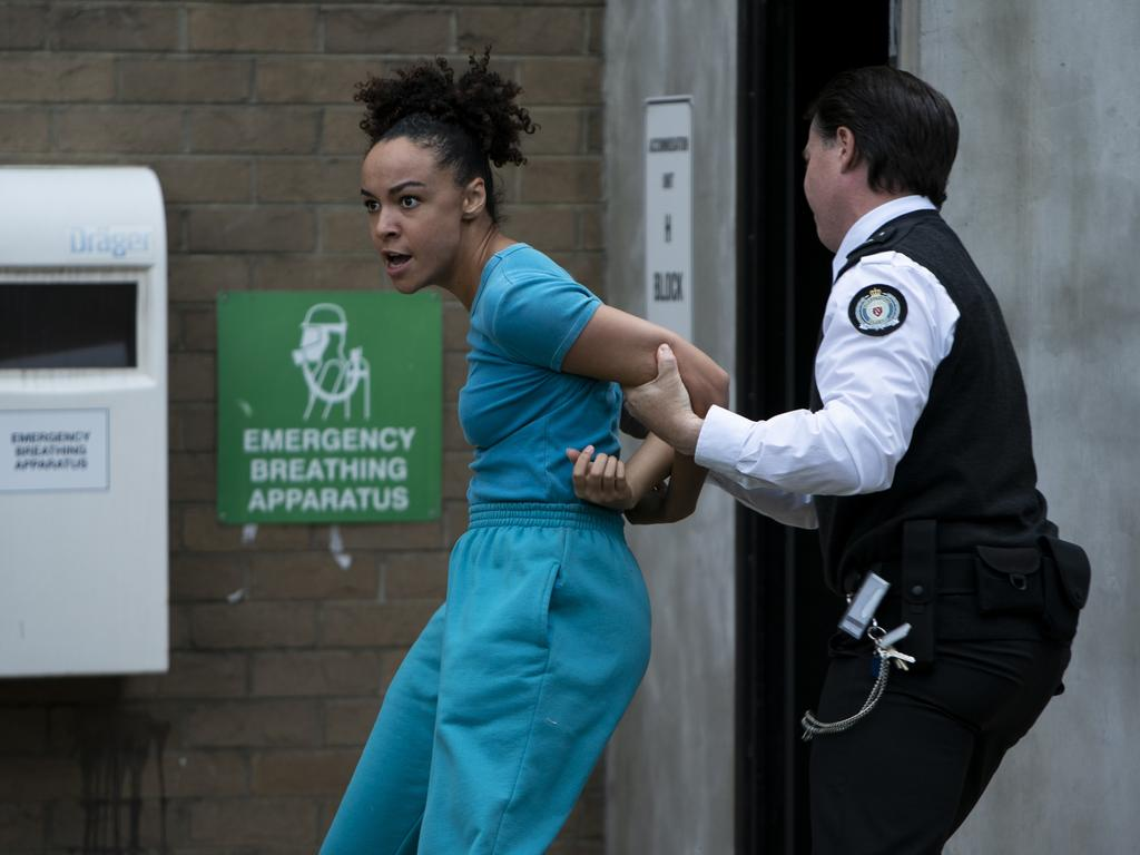 'Always anchored in truth' … a scene from Wentworth, Australia's hit prison drama.