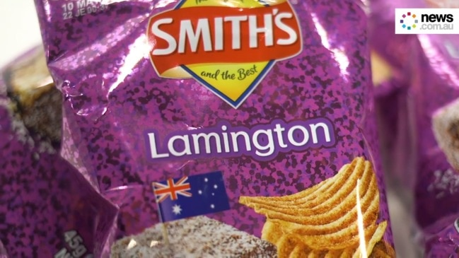 Lamington chips are now a thing