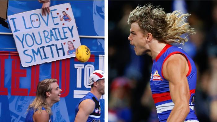 Bailey Smith is a Bulldogs cult hero.