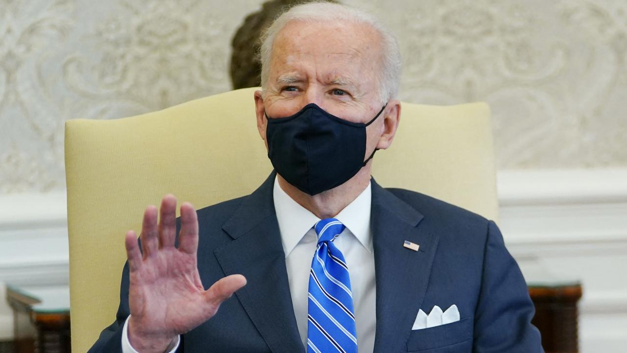 US President Joe Biden's new administration is doing a review of North Korea policy. Picture: Mandel Ngan/AFP