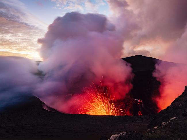 5. CLIMB AN ACTIVE VOLCANO IN VANUATU Getting to Vanuatu's Mt Yasur volcano on Tanna Island is an experience in itself. But ascending the gurgling volcano is bucket-list material. The trek leads climbers to the edge of the crater, where sulphur fills the air, and the volcano speaks.