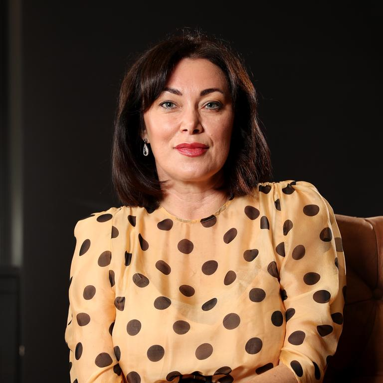 Lisa Oldfield during a photo shoot for the launch of digital money coaching service Best Financial Friend. Picture: Jonathan Ng
