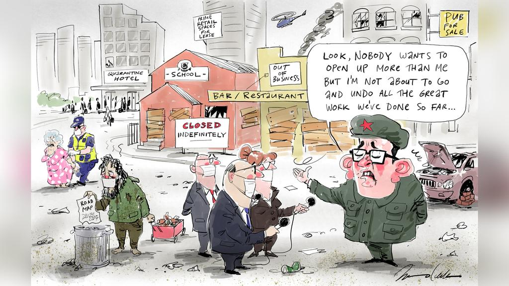 Johannes Leak Letters Cartoon for 09-09-20  Version: Letters Cartoon  (1280x720 - Aspect ratio preserved, Canvas added)  COPYRIGHT: The Australian's artists each have different copyright agreements in place regarding re-use of their work in other publications.  Please seek advice from the artists themselves or the Managing Editor of The Australian regarding re-use.